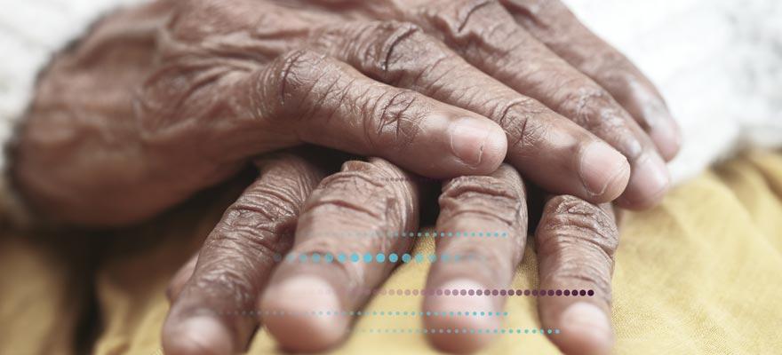 Manos doloridas por artritis