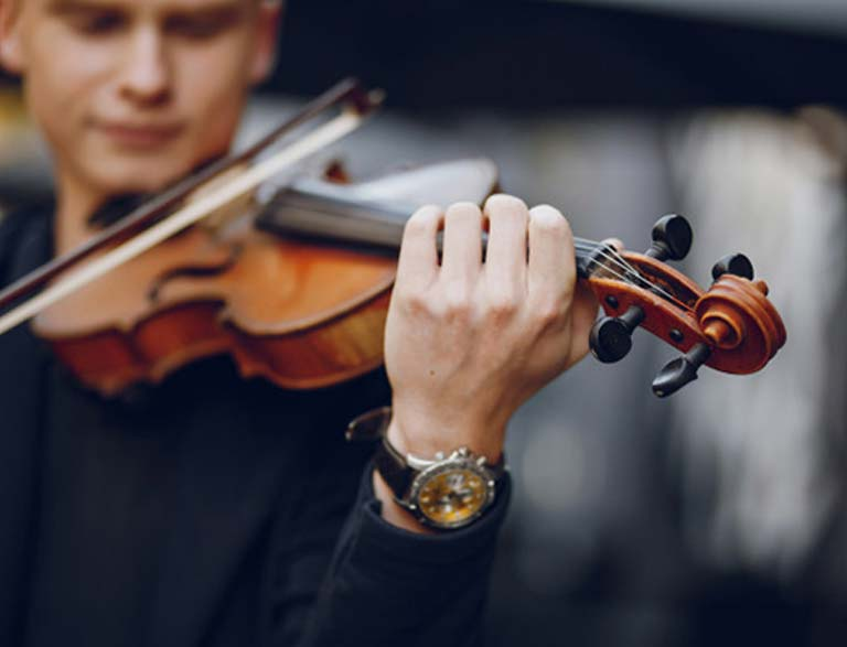 Musico violinista